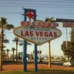 The famous Las Vegas real estate investment sign