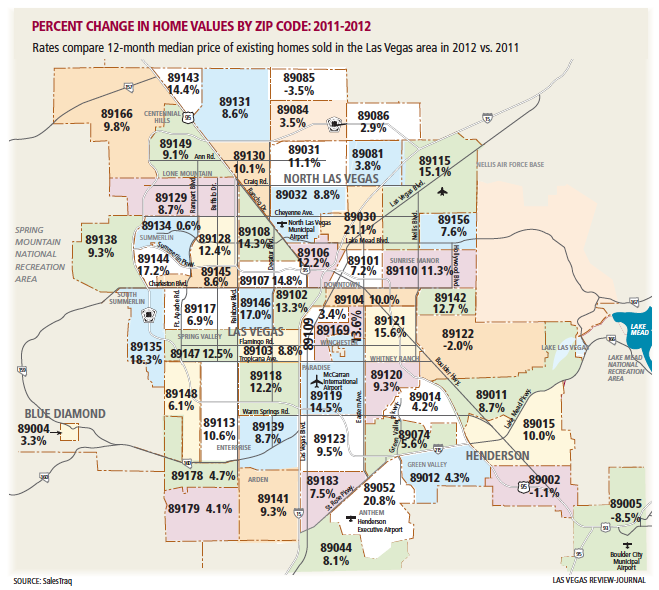 Las Vegas Zip Code Map Pdf | Zip Code MAP